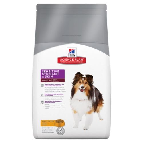 Hills Adult Sensitive Stomach&Skin Chicken Köpek Maması 12 Kg+Flexi Hediye
