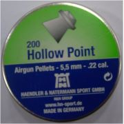 H&N Hollow Point 5.5 Cal Havalı Saçma