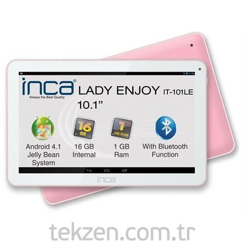 Inca Lady Enjoy 10.1'' Bluetooth 16 GB Pembe Tablet Pc