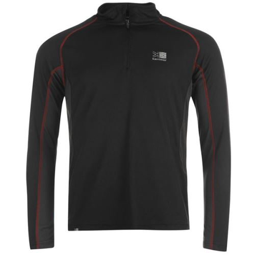 Karrimor Long Sleeve Zip Tech T-Shirt Kadın 444151 xl