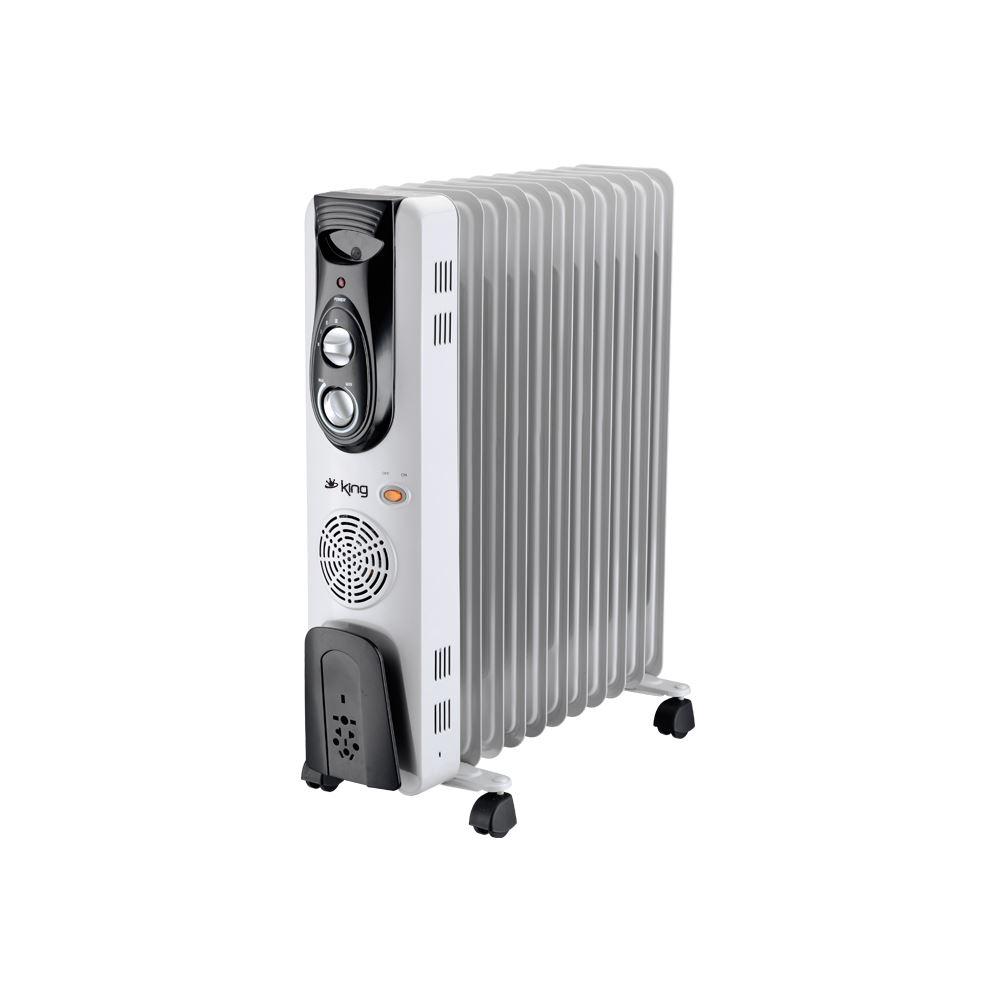 King K 6270 Radia 11 Dilim 2500 W Yağlı Radyatör