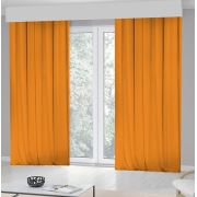 Kozzy Home RFE421 Tek Kanat Fon Perde 140x270 cm Orange