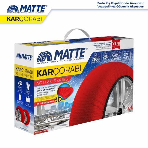 Matte Kar Çorabı - Active Series SMALL