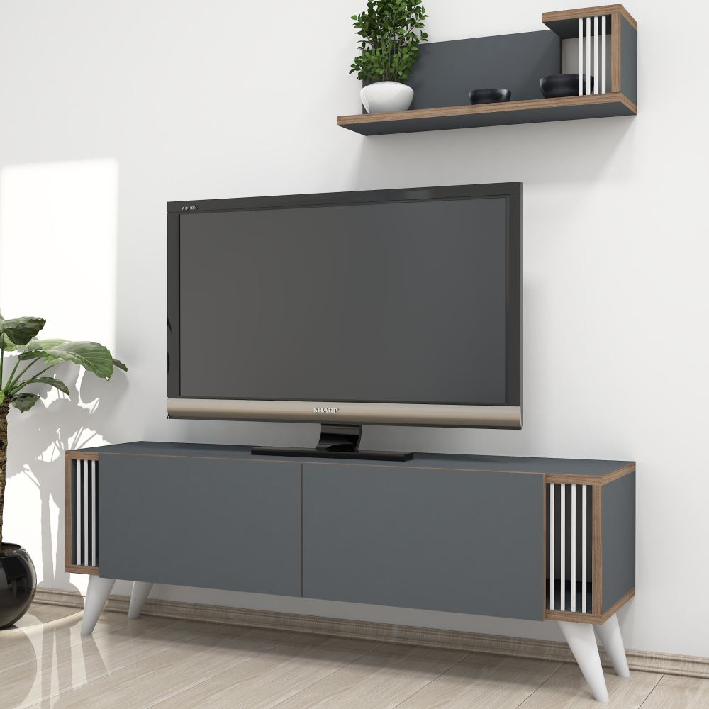 Minar Negro Tv Nitesi Antrasit Modelleri Ve Fiyatlar Tekzen # Melis Tv unitesi
