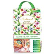 Natural Cat Litter Exotic Flowers Egzotik Çiçek Kokulu Kedi Kumu 10 kg