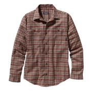 Patagonia Men's Long-Sleeved Pima Cotton Shirt Mavi_Siyah