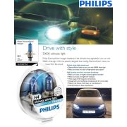 Philips H4 Model Diamond Vision Far Ampül Seti