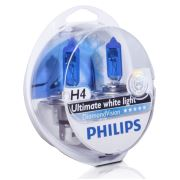 Philips H4 Diamond Vision Ultra Beyaz Işık 5000K 12342DVS2