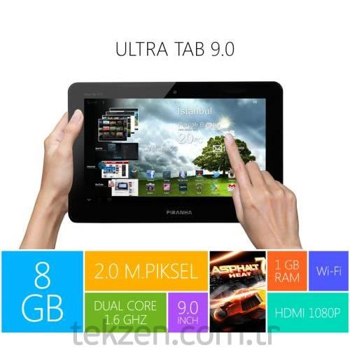 Piranha Ultra Tab 8 Gb 9.0 Tablet Pc
