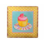 Decotown Cup Cake Ahşap Pano 40x40 (18225)