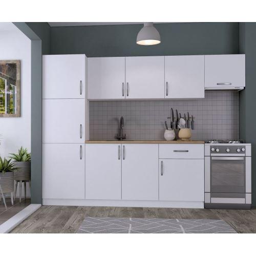 rabi 220 cm mutfak dolab beyaz 60 cm beyaz boy dolab. Black Bedroom Furniture Sets. Home Design Ideas