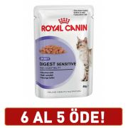 Royal Canin Digest Sensitive Kedi Konserve Maması 85 Gr 6 Al 5 Öde