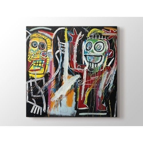 Jean-Michel Basquiat - Dustheads Tablo Kare