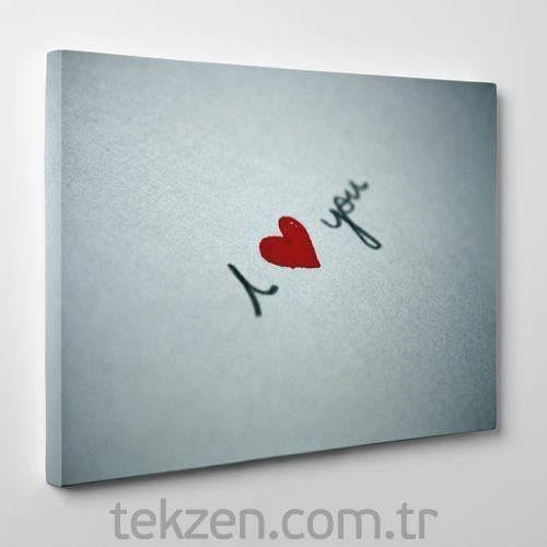 TabloSHOP - My Heart is Yours Canvas Tablo - 60x40cm - SG-18