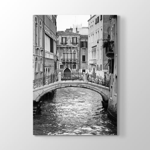 Tabloshop Venezia Black White Tablo 80x125 cm