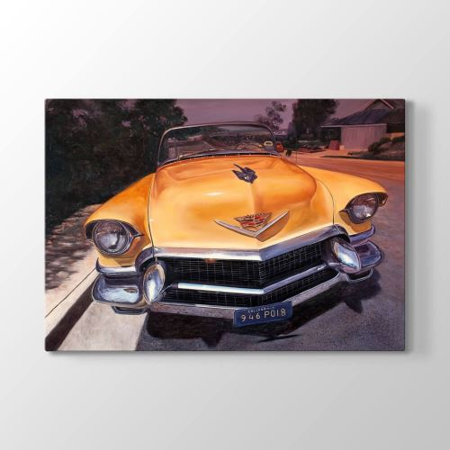 Tabloshop Cadillac Convertible Tablosu 75x50 cm