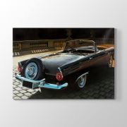 Tabloshop 1956 Model Thunderbird Tablosu 45x30 cm