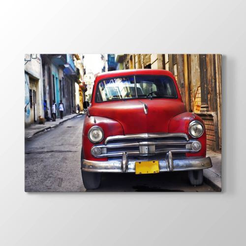 Tabloshop Old Havana Araba Tablosu 125x80 cm