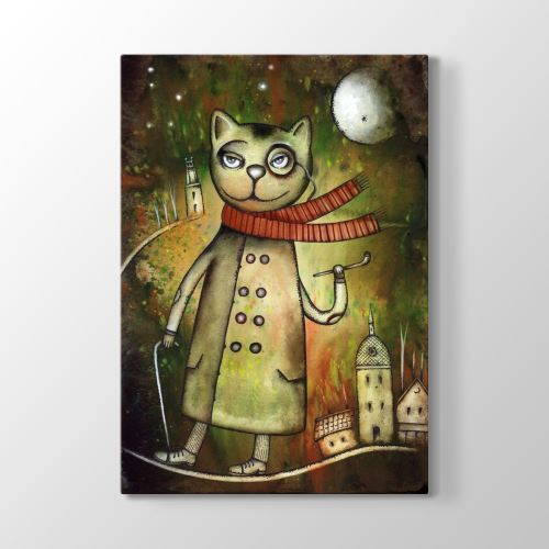 Tabloshop Dr. Cat Tablosu 60x90 cm