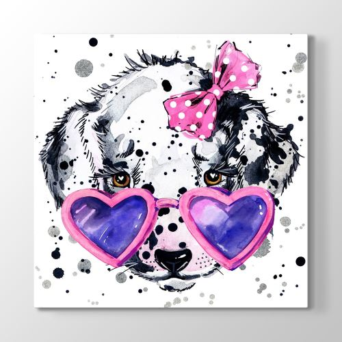 Tabloshop Sweet Dog Tablosu 50x50cm