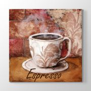 Tabloshop Espresso Vintage Tablo 30x30cm