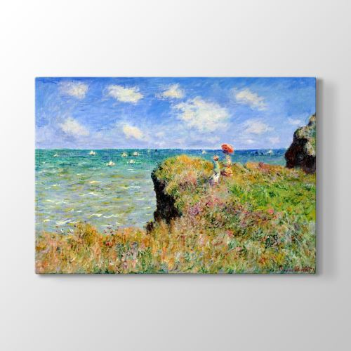 Tabloshop Claude Monet - Landscape Tablosu 125x80 cm