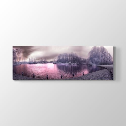 Tabloshop Misty Air Tablosu 120x40 cm