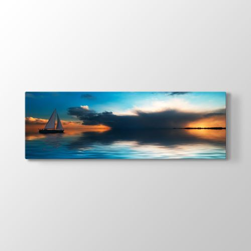 Tabloshop Sailing Tablosu 120x40 cm