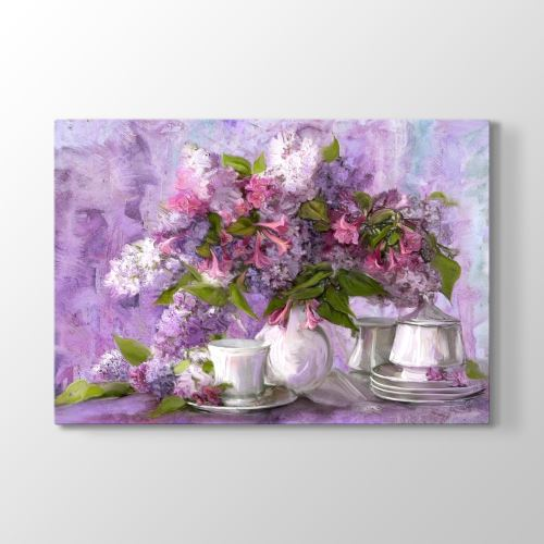 Tabloshop Çay Servisi Ve Lavantalar Tablo 45x30 cm