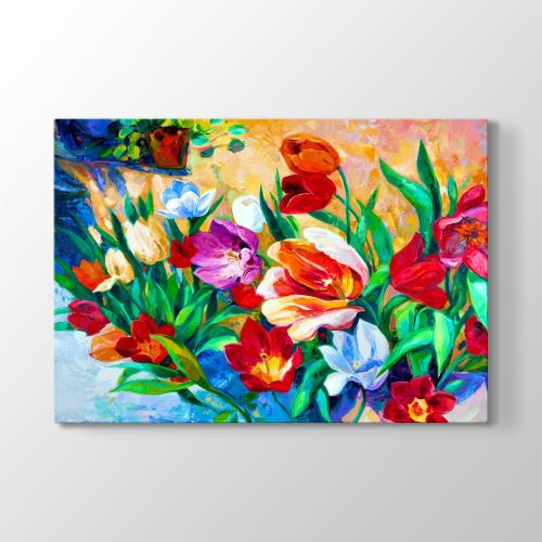 Tabloshop Flowers Art Tablosu 75x50 cm