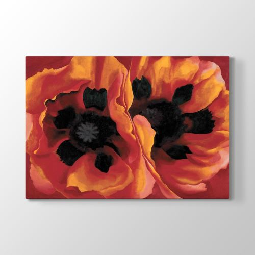 Tabloshop Georgia OKeeffe - Oriental Poppies Tablosu 45x30 cm