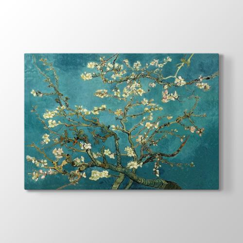 Tabloshop Vincent Van Gogh - Blossoming Almond Tablosu 45x30 cm