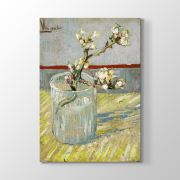 Tabloshop Vincent Van Gogh - -Sprig of Flowering Tablosu 30x45 cm