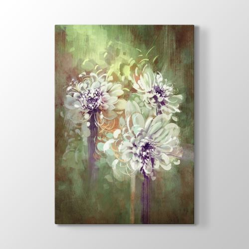 Tabloshop Floral Art Tablo 50x75 cm