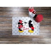Lisanslı Minnie-Mickey Love 120x180 cm Halı