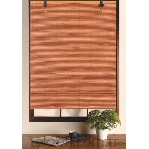 tekzen home t2r 70820rs bambu stor perde 80x180 cm tekzen