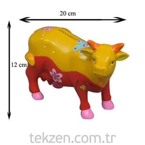 Dekoratif Kumbara Okuz Polyresın Xq92123 Tekzen
