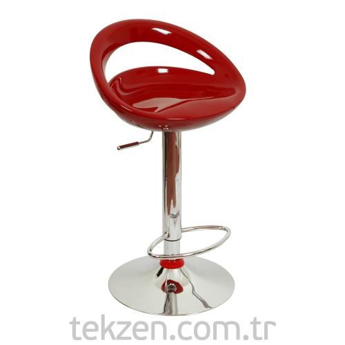 Tekzen BS-08 Bar Sandalyesi Bordo