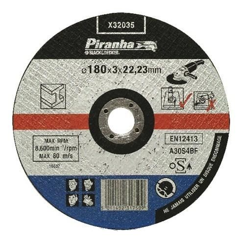 Piranha Bombeli Metal Kesme Diski 180*22MM -X32035