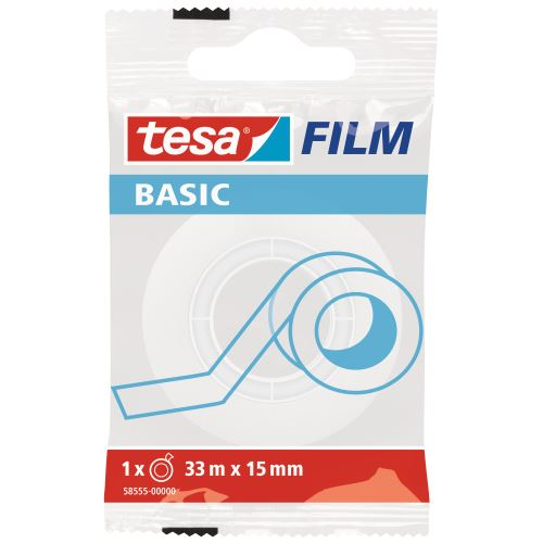 Tesa Basic 33 m X 15 mm Seffaf Bant