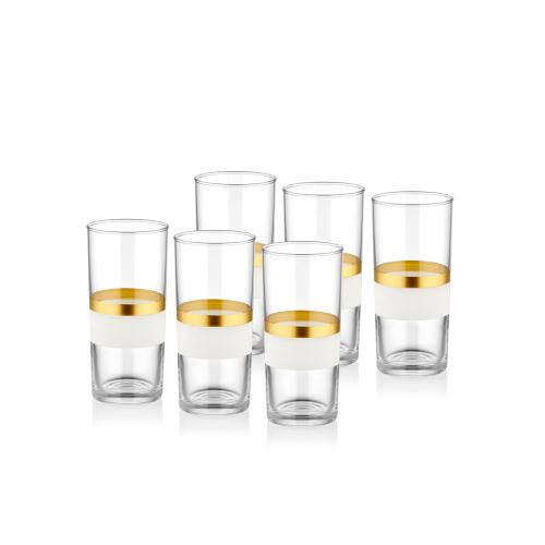 The Mia Snow Rakı Kadehi 6 Lı Set