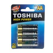 Toshiba LR6 4'lü High Power Alkalin Kalem Pil