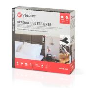 Velcro® Brand General Use Fastener - 20mm x 5m Velcro-General Use Fastener-20mm x 5m-Beyaz