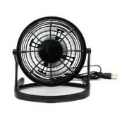 Zen Home NRE10-203 Siyah Mini Usb Fan 4 İnc