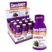 Zero Shot 60 Ml 3000Mg L-Carnitine + Plus Sambucus 12 Adet